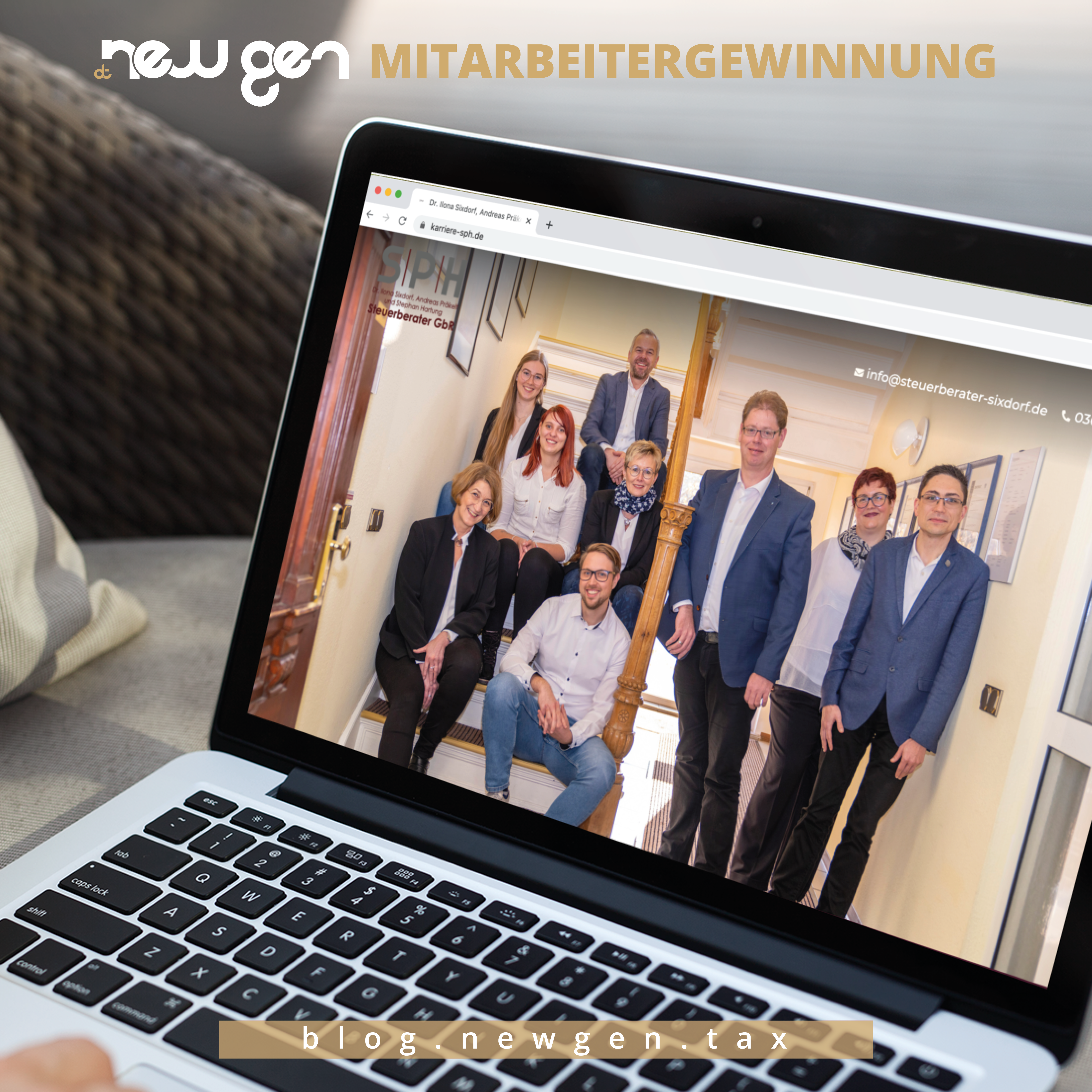 new gen Mitarbeitergewinnung -Andreas Präkelt und Stephan Hartung