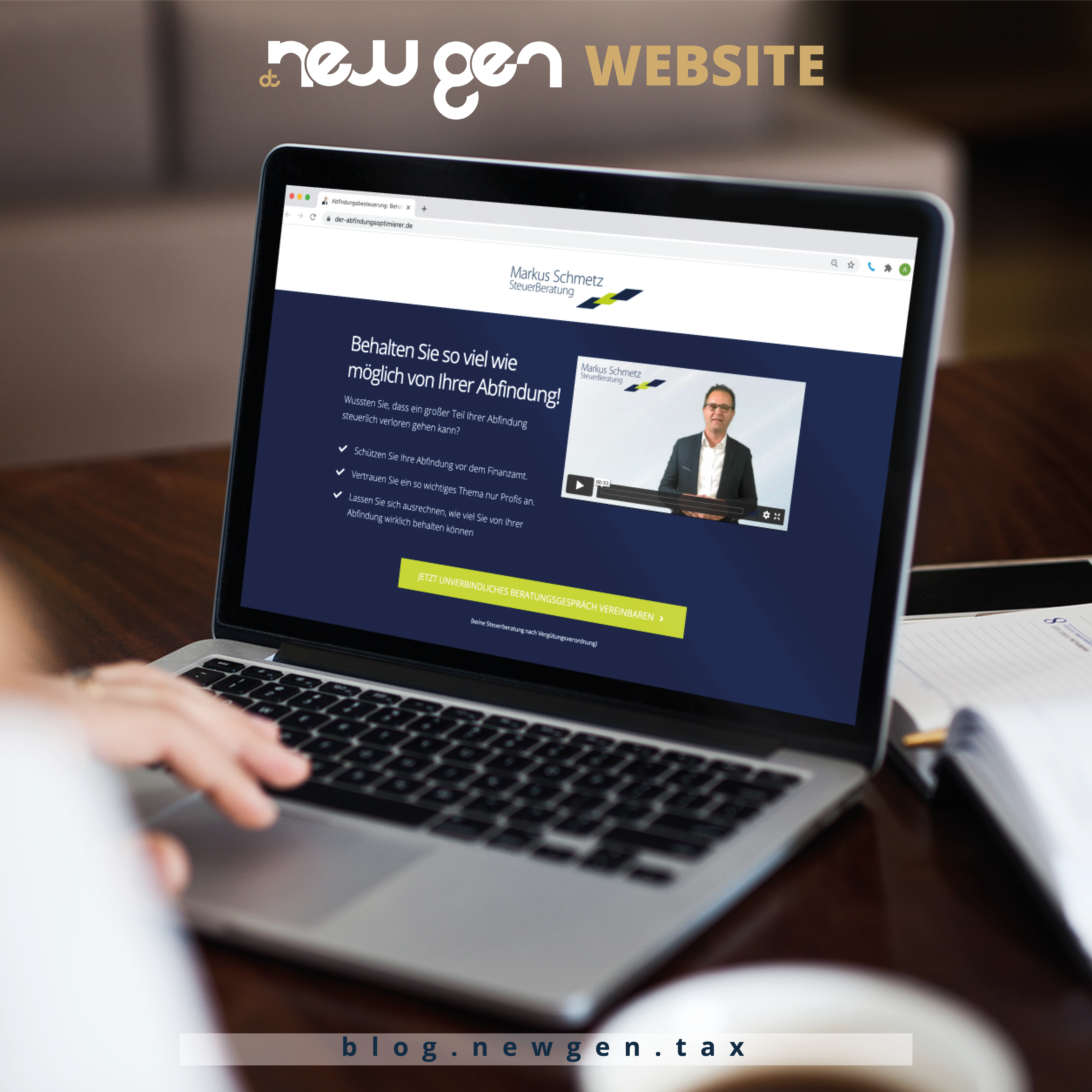new gen Website - Markus Schmetz
