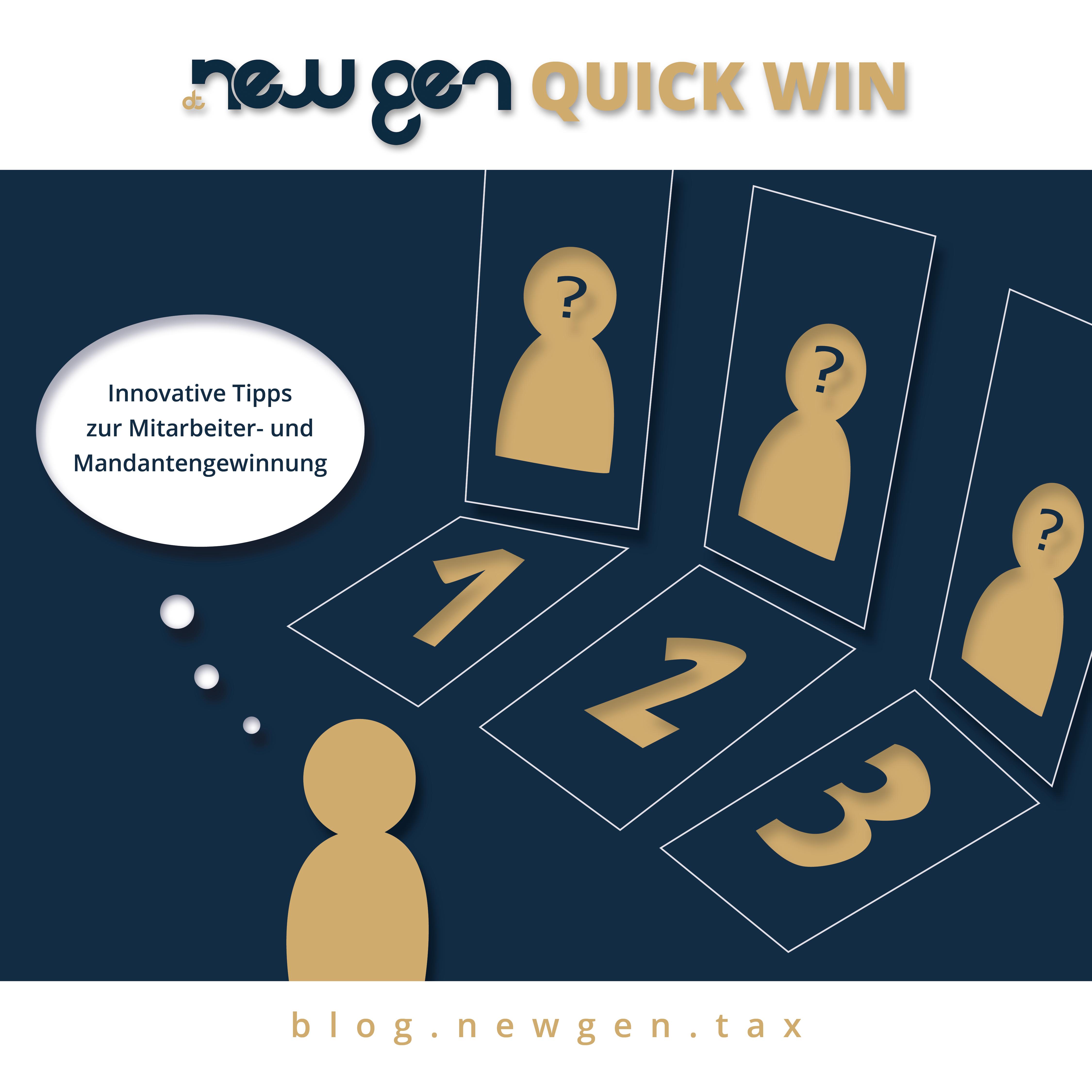 Innovative Tipps zur Mitarbeiter- und Mandantengewinnung