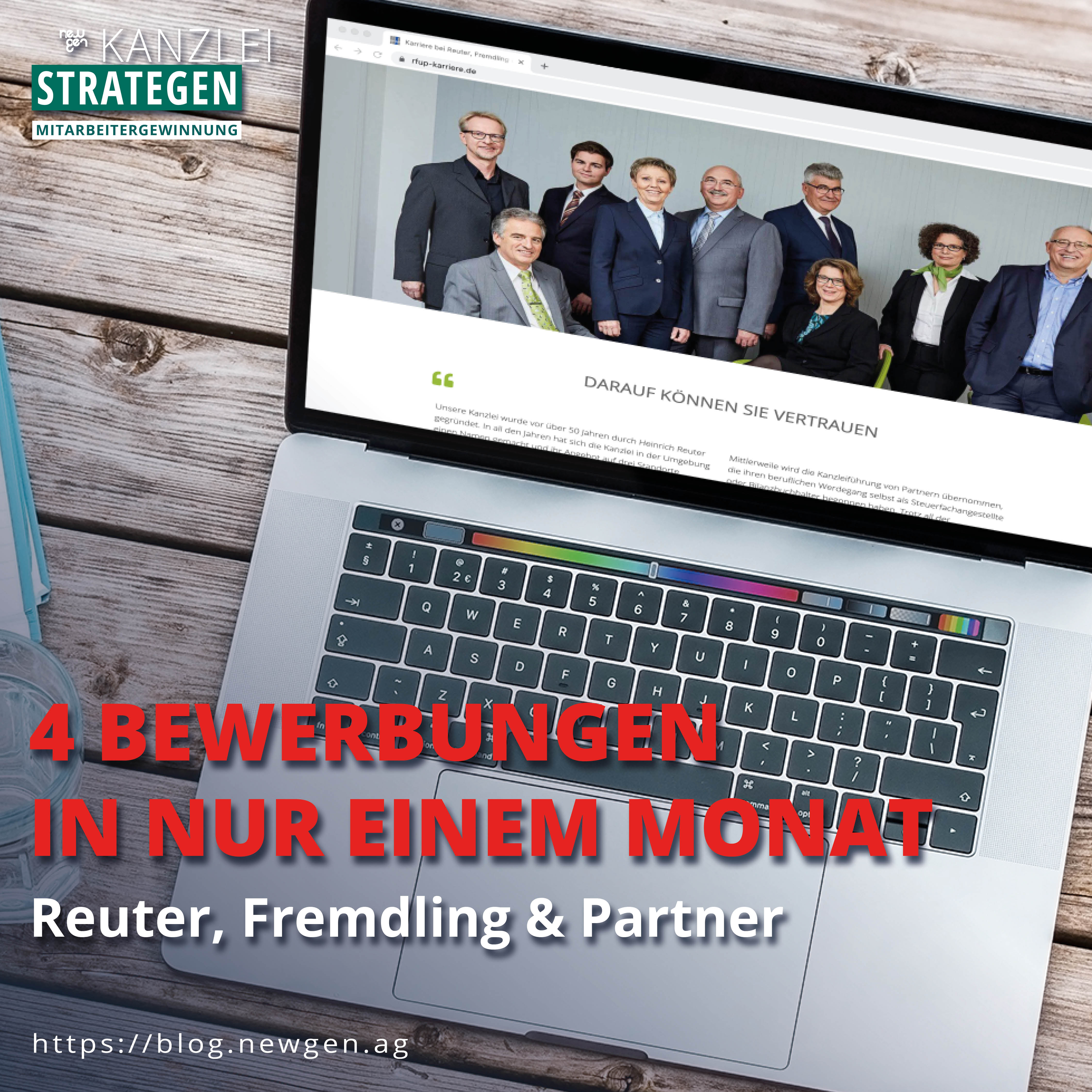 newgen Mitarbeitergewinnung – Reuter, Fremdling & Partner