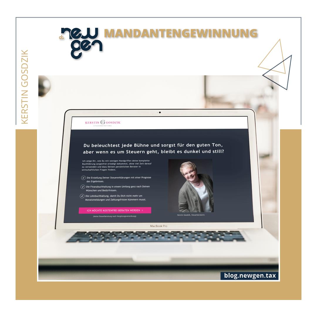 new gen Mandantengewinnung - Kerstin Gosdzik